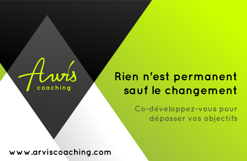 carte visite Arvis Coaching